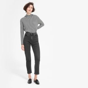 Everlane The Cheeky Straight Jean - Black